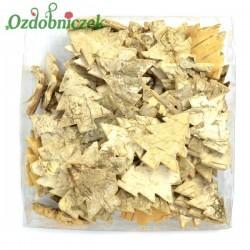 Choinki naturalne z kory brzozy 3.5cm/72szt