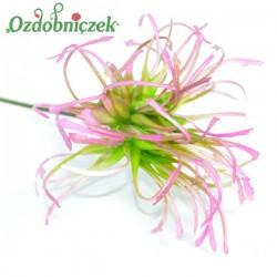 Gałązka ozdobna - Oset zielono-fioletowy 33 cm