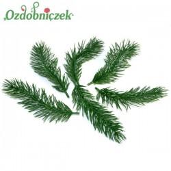 Igliwo zielone, świerkowe gałazki - 6 szt/13 cm