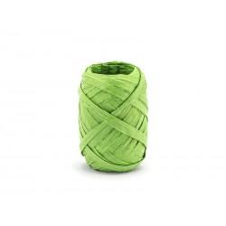 RAFIA jasnozielona, sznurek papierowy - 10mb