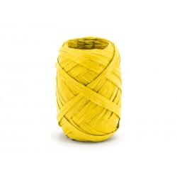 RAFIA żółta, sznurek papierowy - 10mb
