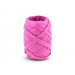 RAFIA amarantowa, sznurek papierowy - 10mb
