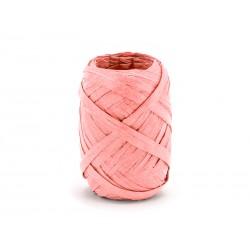 RAFIA łososiowa, sznurek papierowy - 10mb