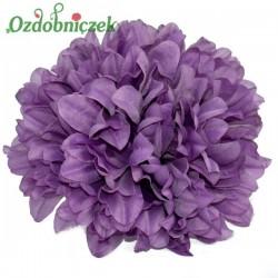 Chryzantema satynowa WRZOSOWA - główka kwiatowa 14cm