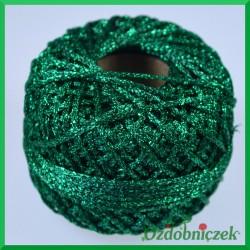 Sznurek brokatowy 2.5mm/50mb zielony