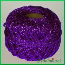 Sznurek brokatowy 2.5mm/4mb fioletowy
