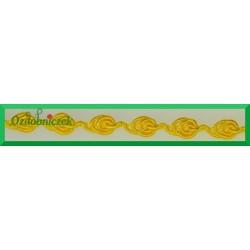 Taśma ślimaczki 1mb  żółta