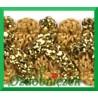 Taśma szlaczek z brokatem złoto złoty 1mb