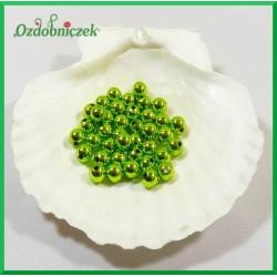 Perełki 8mm zielone