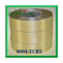 Wstążka tasiemka satynowa 6mm kolor ecru 8004