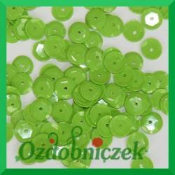 Cekiny 6mm 12g pistacjowe matowe