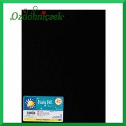 Filc 1mm czarny