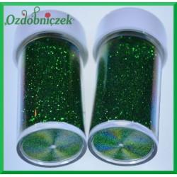 Brokat sypki 20g zielony