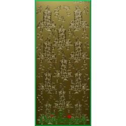 Stickersy złote świeczniki BN