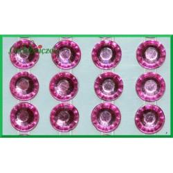 Diamenciki samoprzylepne 6mm różowe