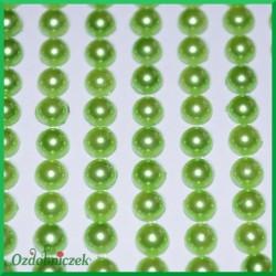 Perełki samoprzylepne 5mm pistacjowe