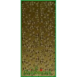 Stickersy złote ozdobniki narożne R