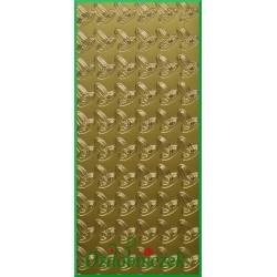 Stickersy złote obrączki R