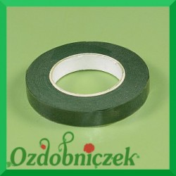 Taśma florystyczna zielona 25mm