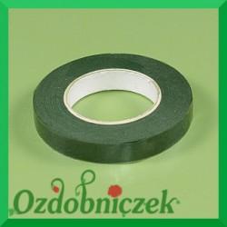 Taśma florystyczna zielona 13mm
