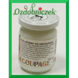 Klej wodny do decoupage 125 ml