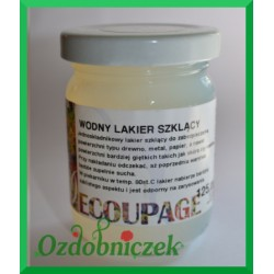 Lakier szklący do decoupage 125ml
