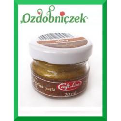 Postarzająca woskowa pasta gold 20ml