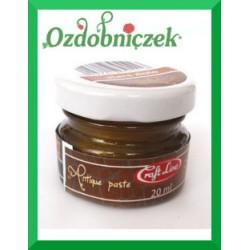 Postarzająca woskowa pasta antique gold 20ml
