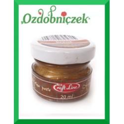 Postarzająca woskowa pasta brass 20ml