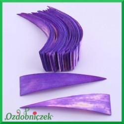 Paski klinowe fioletowe duże