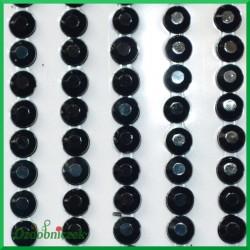 Diamenciki samoprzylepne 4mm czarne