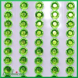 Diamenciki samoprzylepne 4mm seledynowe