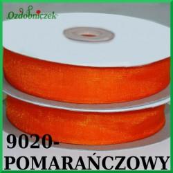 Tasiemka szyfonowa 6mm pomarańczowy
