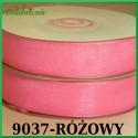 Tasiemka szyfonowa 6mm różowa