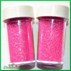 Brokat sypki 20g różowy