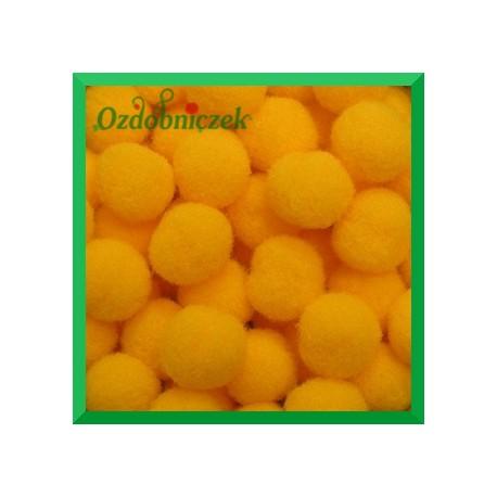 Pompony pomarańczowe 13mm/100szt