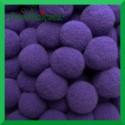 Pompony fioletowe 13mm/100szt