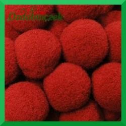 Pompony czerwone 20mm/100szt