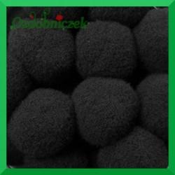 Pompony czarne 20mm/100szt