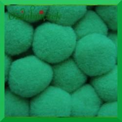 Pompony zielone 20mm/100szt