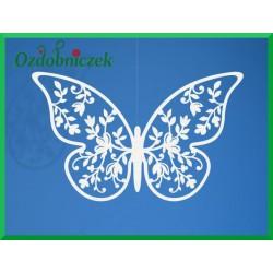 Zawieszka papierowa motyl 6,5x4cm