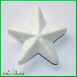 Gwiazdka styropianowa wypukła średnia