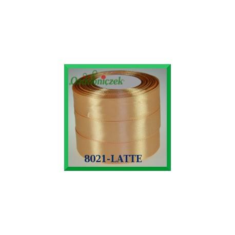 Tasiemka satynowa 25mm kolor latte 8021