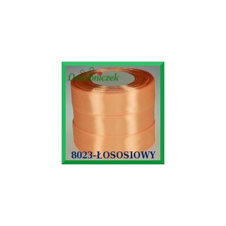 Tasiemka satynowa 25mm kolor łosoś 8023