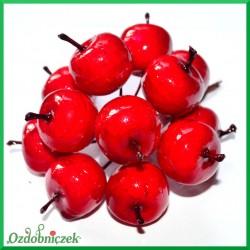 Rajskie jabłuszka czerwone na druciku 6szt.