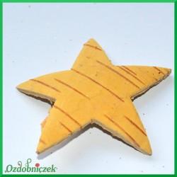 Gwiazdki naturalne z kory brzozy 7cm