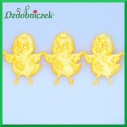 Aplikacje kurczaczki żółte