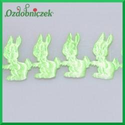 Aplikacje króliczki jasno zielone