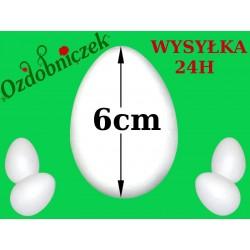 Jajko styropianowe 6 cm