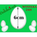 Jajko styropianowe 6 cm  IMPORT